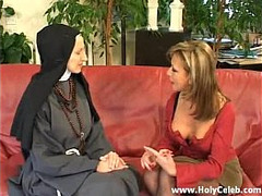 Hard Sex, hard, lesbians, Fuck the Nun, Wild, Mature Perfect Body