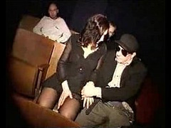 Woman Fucked in Cinema Theatre, German Porno, Hooker Fuck, Perfect Body Masturbation