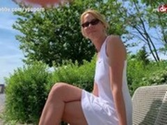 Blonde, Blonde MILF, Creampie, Creampie MILF, German Porn Sites, German Mature Creampie, German Mature Hd, German Granny Outdoor, Hot MILF, Hot Mom and Son, milfs, outdoors, Perfect Body Anal