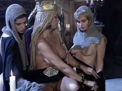 3some, lesbians, Lesbian Strap on Threesome, Medieval, Amateur Milf Perfect Body, Queen Slave, Amateur Threesome