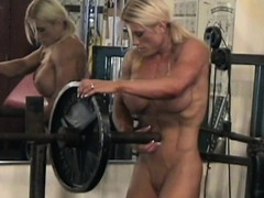 Muscular Girl, Topless Whore, Gym Sex, nudes