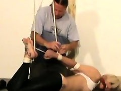 BDSM, Blonde, Fetish, Amateur Milf Perfect Body, Sex Slave, Watching Wife, Masturbating While Watching Porn