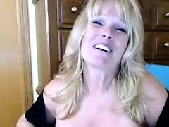Cum on Her Tits, Blonde, Blonde MILF, Gorgeous Breast, Hot MILF, Milf, Milf, Mature Perfect Body, Huge Boobs, Husband Watches Wife, Couple Fuck While Watching Porn