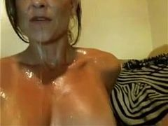Hot MILF, Masturbating, milf Mom, squirting, Mom, Perfect Body Teen