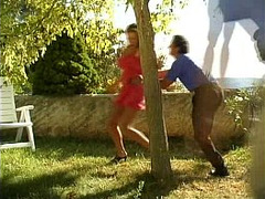 Anal, Butt Fuck, Blowjob, Blowjob and Cum, Blowjob and Cumshot, Girl Orgasm, Cumshot, outdoors, Surprise Threesome, 3some, Assfucking, Buttfucking, Perfect Body Masturbation, Sperm in Pussy, Secretary Stockings