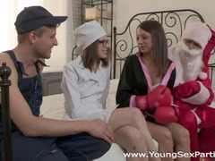 Banging, Fuck Friends Threesome, Plumber Fucks Beauty, Redneck, Russian, Young Girl, Perfect Body, Russian Babe Fuck