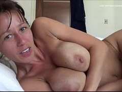 Pussy Fucked on Bed, point of View, Perfect Body